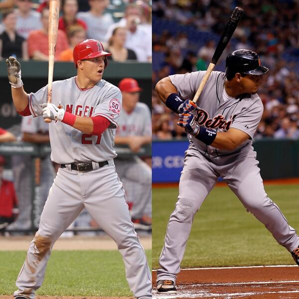 RT @AthIeteVids: Who is a Better Player? Retweet for Mike Trout Like for Miguel Cabrera https://t.co/pxuRKTfEo6
