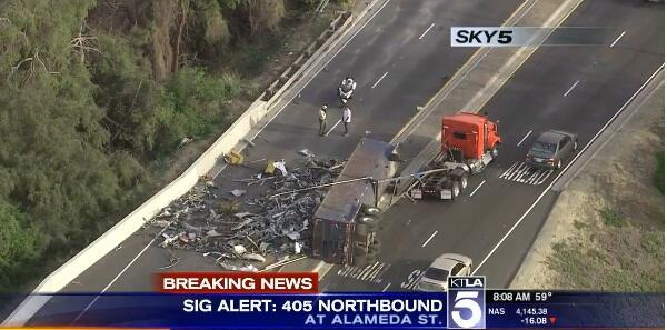 Try These Sigalert Los Angeles 405 North {Mahindra Racing}