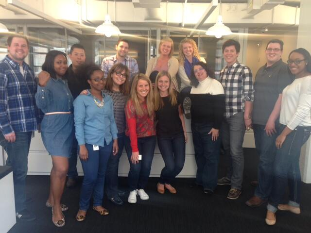 RT @bbarest: Our team at @HavasMedia @HavasMediaUSA is Proud to support @GUESS and #DenimDay2014. http://t.co/VADVg7RNfC ^WR