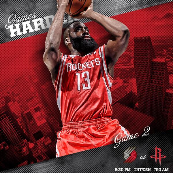 """Houston Rockets On Twitter: """"Rockets Vs. Trail Blazers"""