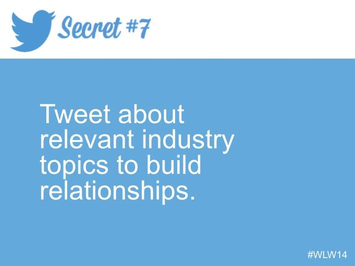 Twitter / HubSpot: Secret # 7 from @TwitterSmallBiz ...