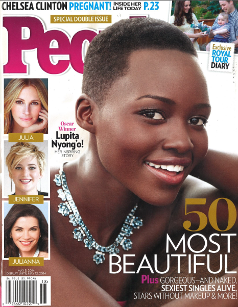 Breaking: @Lupita_Nyongo named @peoplemag's Most Beautiful Person #LupitaforLancome #proud http://t.co/mDFftSmqnh