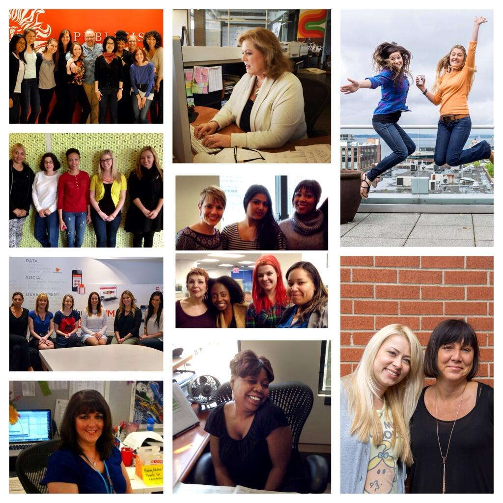The true agents of change at Publicis N. America - Our vital admins. Happy #AdministrativeProfessionalsDay! http://t.co/fmkWQgA7Iu