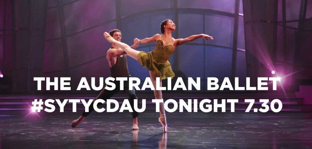 RT @SYTYCDAU: TONIGHT 7.30: @TheAusBallet perform live on #SYTYCDAU. http://t.co/cDFUWL1pSG