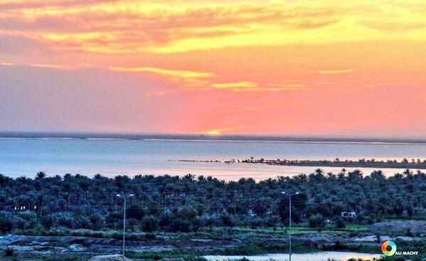 نتیجه تصویری برای sea of Najaf