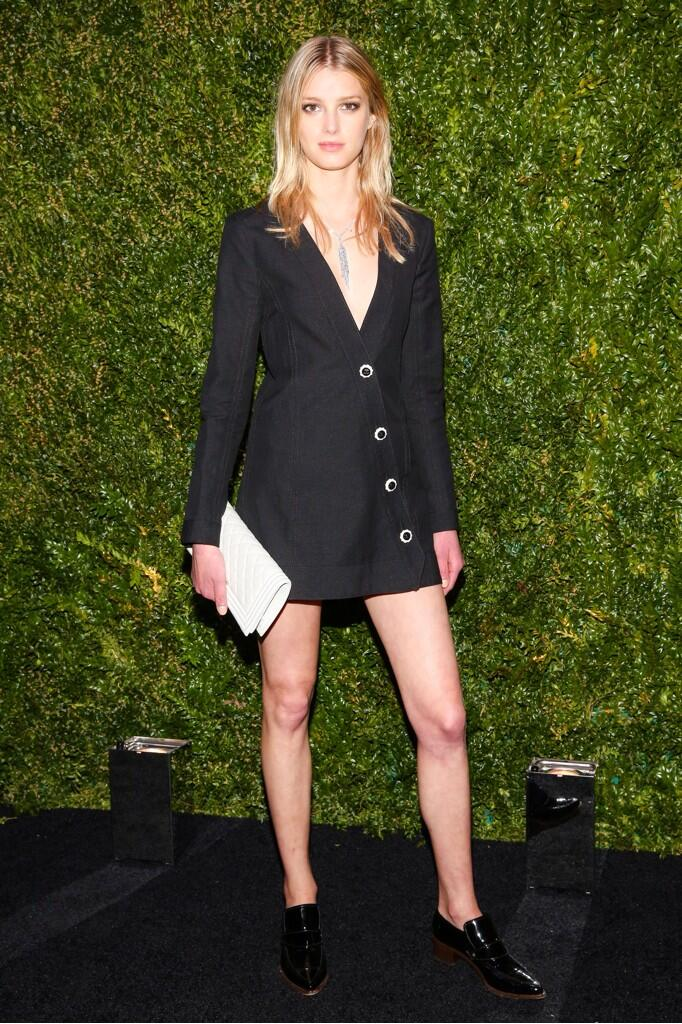 Favorite looks from last night's #ChanelTribeca dinner at Balthazar #TFF2014 http://t.co/fGqoJnMjPU