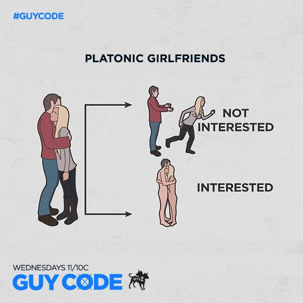 """Try it! It works! Haha """"@MTV2GuyCode: Hug her. Give her the hard press. If she presses back… @tweetAprilRose #GuyCode http://t.co/P9IajYuBzW"""