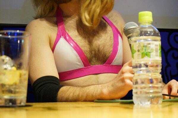 ファン人、LadyBeard胸のこと好き?ヘンタイですねー!