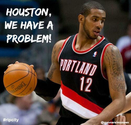 Houston, we have a problem! #ripcity -> @aldridge_12 http://t.co/CXiJ9YYRWp
