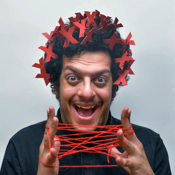 TODAY is TEDxCairo's Day.  Our very own member ahmad el-abi,part of his now-famous #stuffedhair project! #TEDxCairo http://t.co/W9XFqLosxa