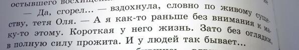 Евгений носов живое пламя главные герои