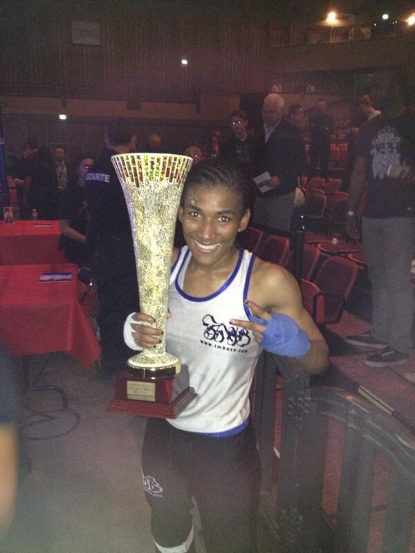 Flora Yanga - Championne de France Elite