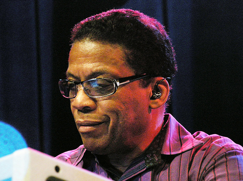 Happy Birthday to Mr. Herbie Hancock. He revolutionized acoustic and electronic jazz in a way that no else has. http://t.co/h3iW7Q6aSL
