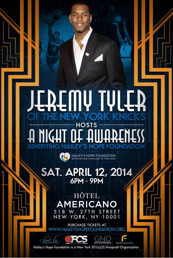 Join me #NightofAwareness benefiting #HHF TONIGHT 6-9 Hotel Americano $40 tix includes dinner: http://t.co/mMm2OCiM1p http://t.co/wSEqkU0HVi