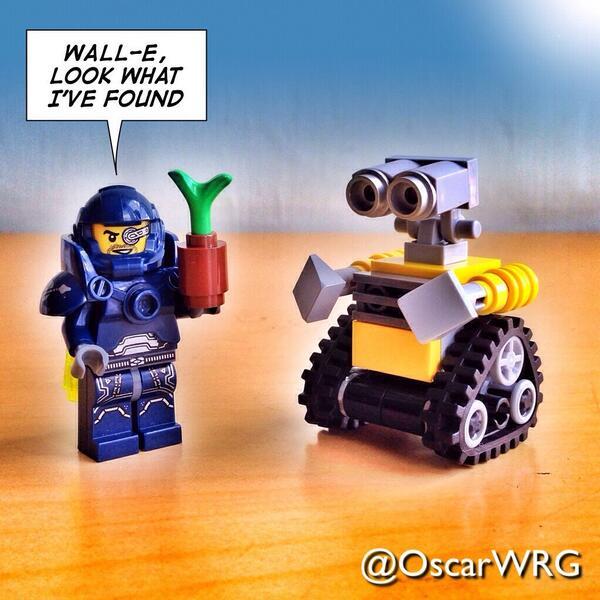 Oscar Romero On Twitter Legogalaxypatrol And Lego Wall E