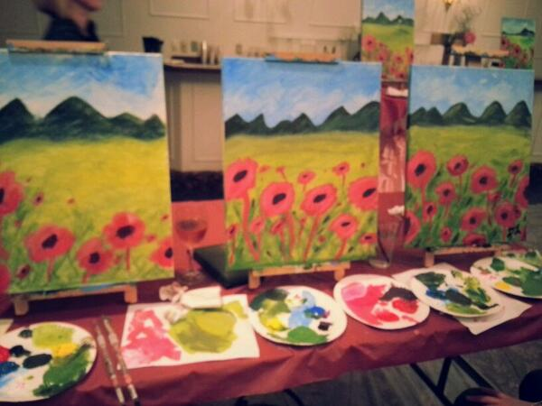 Traveling Canvas Painting Classes