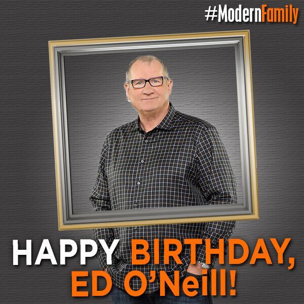 Retweet to wish Ed O'Neill a very happy birthday! http://t.co/wTZGh7sD9g