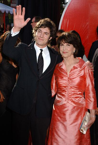 Photo of Adam Brody  & his  Mother  Valerie Brody Siefman