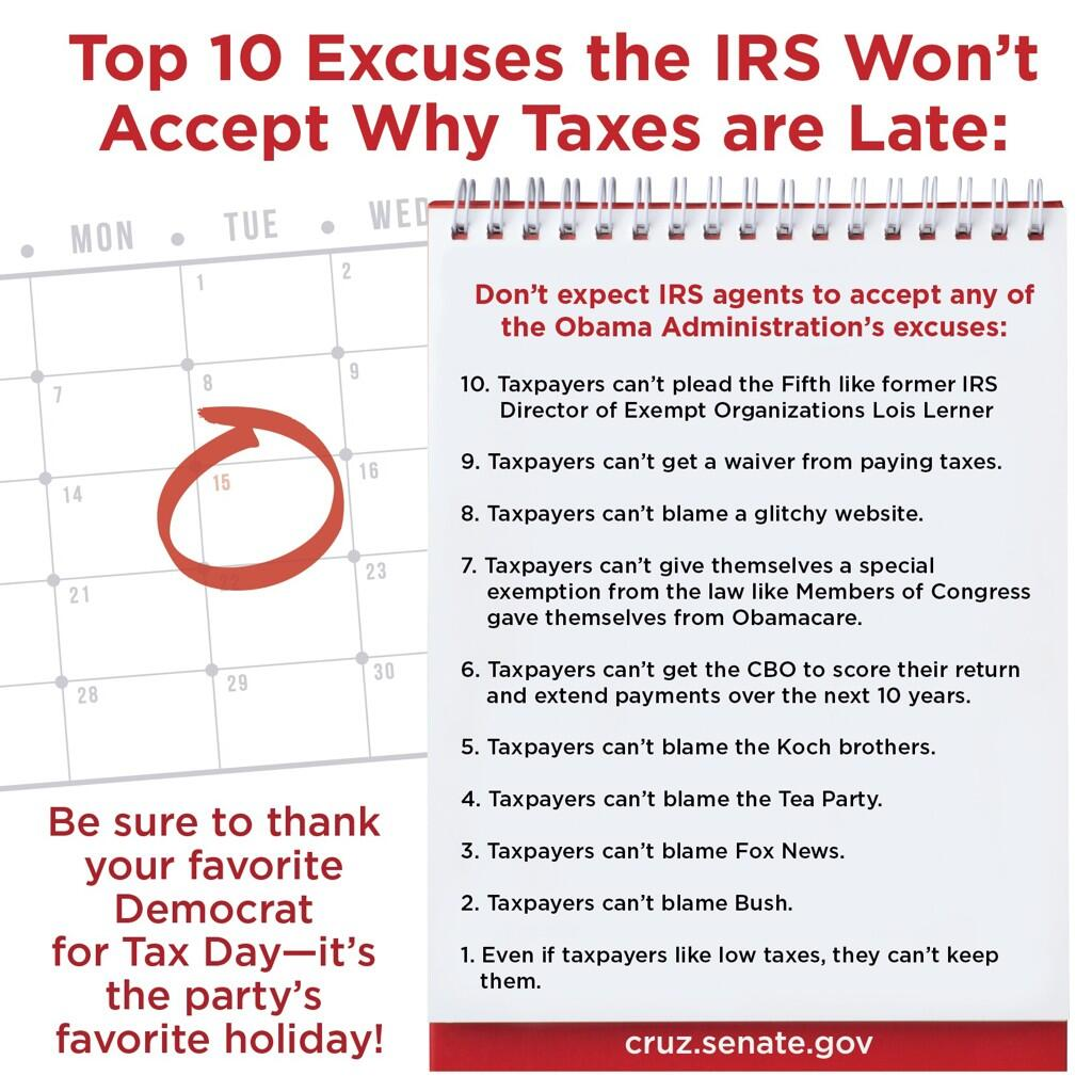 Top ten IRS