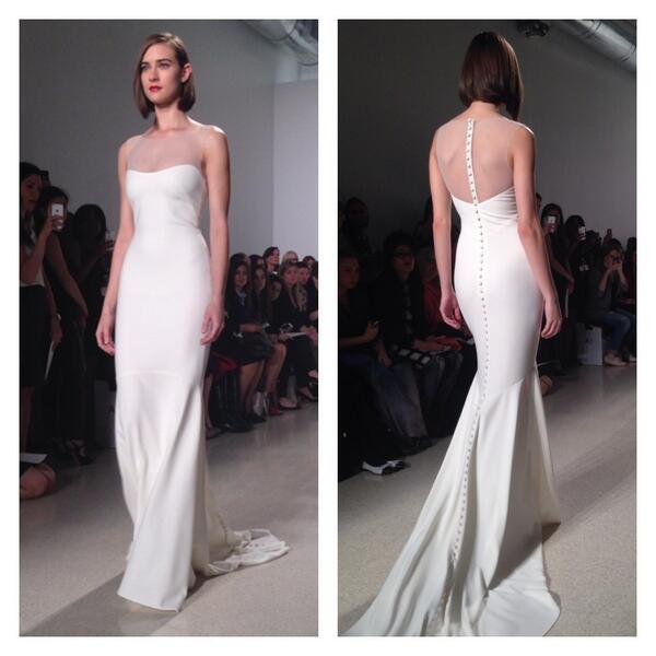 New Designer Wedding Dresses, Wedding Gowns: Bridal Market Fall 2015