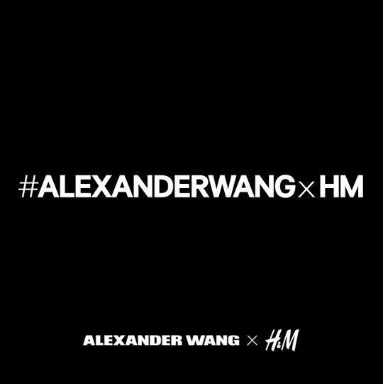 .@AlexanderWangNY x @HMusa #AlexanderWangxHM - http://t.co/CbzpIl43Qe