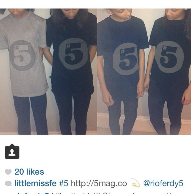 My little sister @LittleMissFe rocking the #5Apparel nicely! http://t.co/TBY8zrYwnp