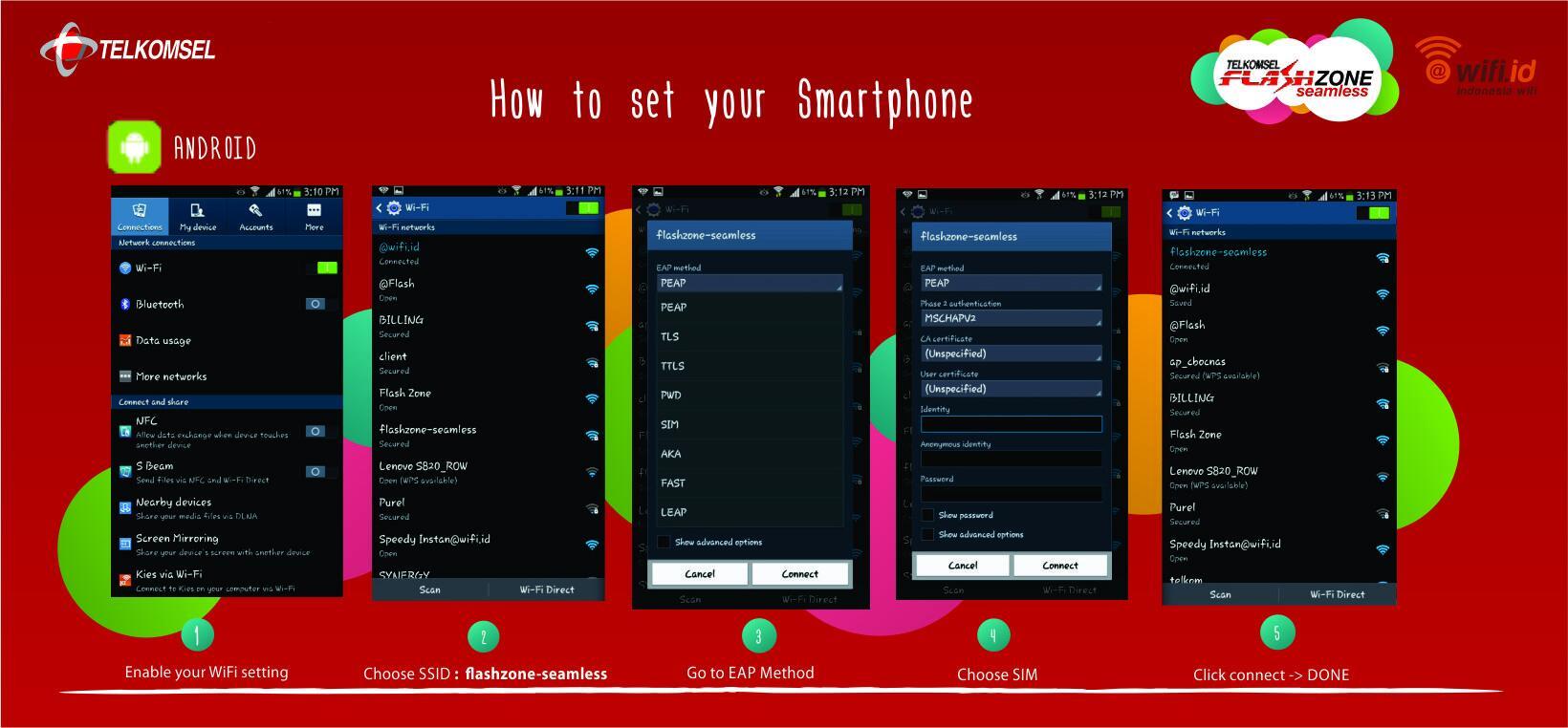 Indonesia Wifi On Twitter Bagi Kamu Pengguna Android Ini Adalah User Password Flashzone Seamless Cara Setting Untuk Akses Http Tco Ct2hllofkv