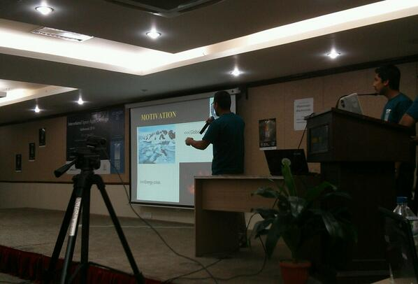 Presentation on Cool It #spaceapps #kathmandu http://t.co/8MSlBk1NlI