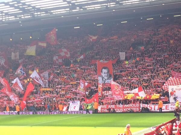 This was the loudest I've heard Anfield http://t.co/v8b8TSOrgy
