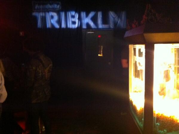 Popcorn and shorts at #TRIBKLN http://t.co/aw2wt6ZeHb