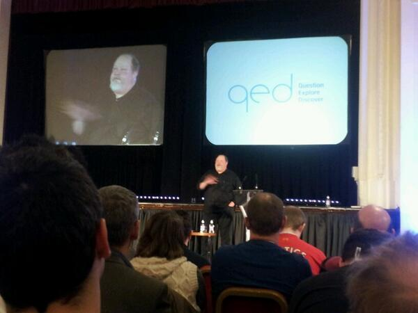 """@noodlemaz:  @n8phelps telling us about his astounding childhood. Room is silent. #qedcon #WBC http://t.co/XcKSgCP03L"" could hear pin drop"