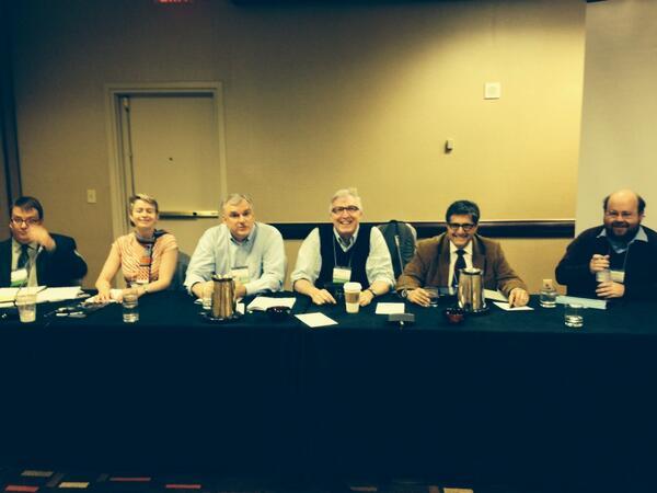 Is Blogging Scholarship panel #oah2014 @Historiann @JohnFea1 http://t.co/pL3ZEsh1eR