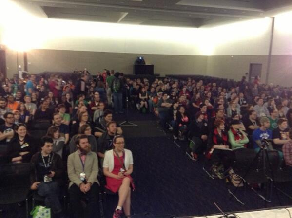 And they're still coming! #paxfeminism http://t.co/7fbQCmK8uG