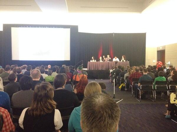 Panel for #paxfeminism is super full!! http://t.co/aFXKywpdtS
