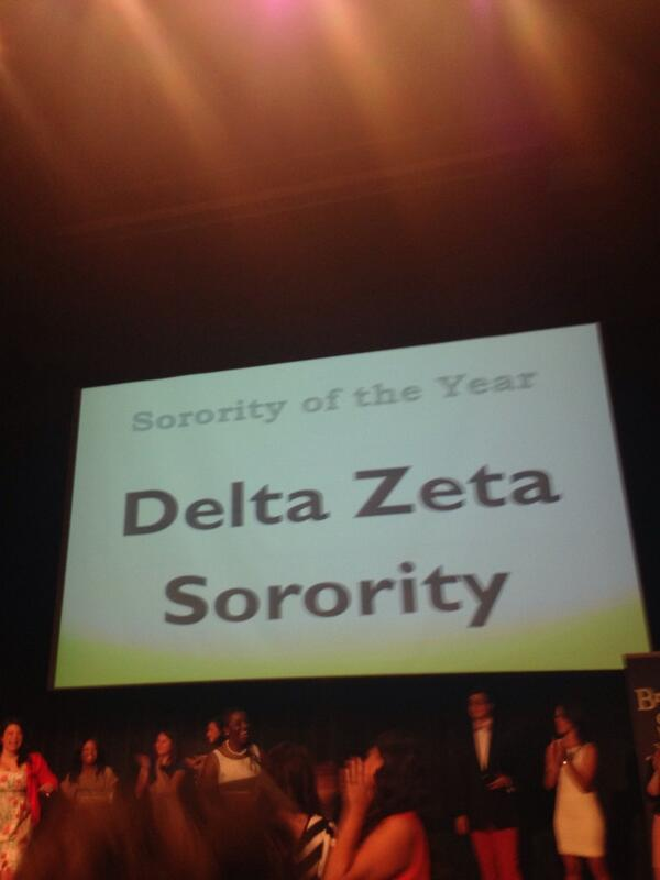 WE ARE SORORITY OF THE YEAR AT THE UNIVERSITY OF NORTH CAROLINA AT CHARLOTTE!!!!!!!!!!!!!!!!!