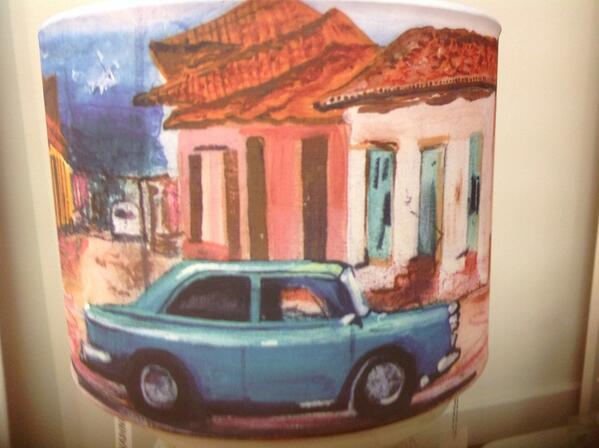 Hammond Cuban Car Lampshade at Nadine Rose