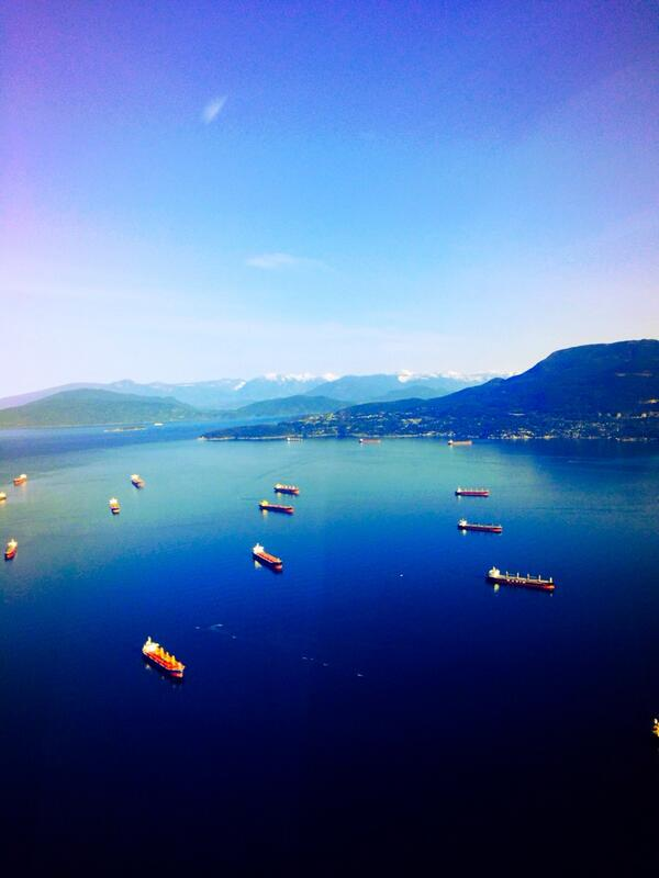 """@SuzyPatrick: Beautiful morning over downtown Vancouver from the Global 1 helicopter @GlobalBC http://t.co/UNmPJ1a8MX"" wow!"