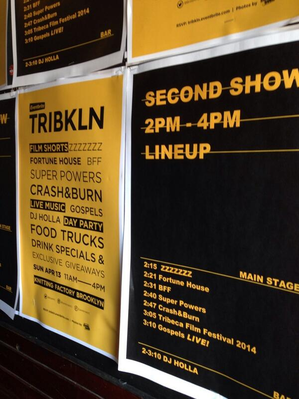 Thank you @briteNYC and #TRIBKLN for great lineup. http://t.co/kJ1CnypozS