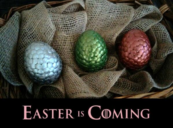 #Easter is Coming #GameOfThrones #GoT http://t.co/5cAxa4yNwH