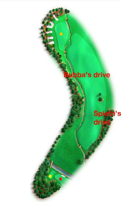 My unofficial rendering of the 13th hole. http://t.co/LopGhlC4dA