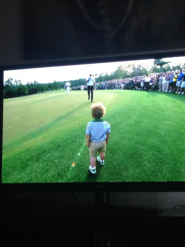 """@_Giannotti: Honestly. Priceless. #MastersSunday http://t.co/Hz3byojooI"" so flipping cute @bubbawatson"