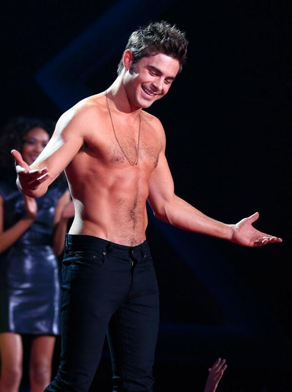 So… can we just rig it so Zac Efron wins Best Shirtless Performance every year now? #MTVMovieAwards http://t.co/698aUJogLx