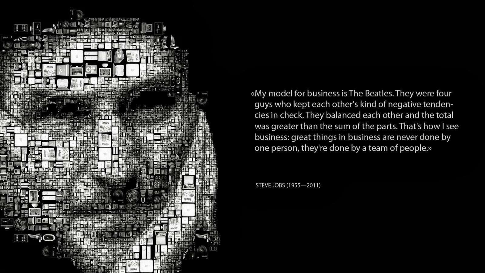 Twitter / BookChat_: Steve jobs on a what makes ...