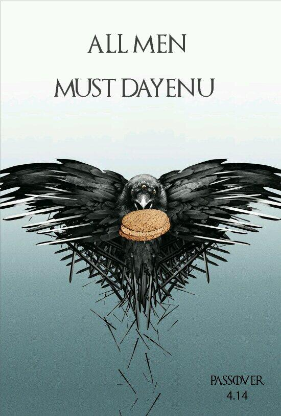#Passover is coming. #GoT #GameOfThrones http://t.co/9m8lNR3wkL