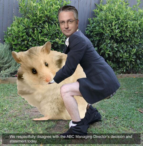 Re ABC statement today: http://t.co/uKfKMggo76 http://t.co/L5mAFEtlbP