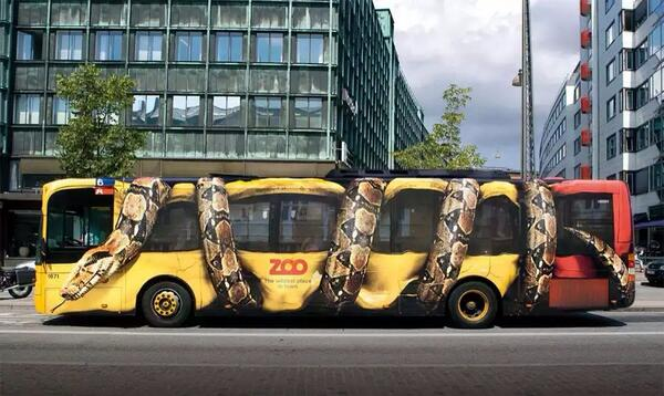 Cool bus wrap http://t.co/jJtP4KnXEy #creative #design #HelpPrintThrive #printingbig