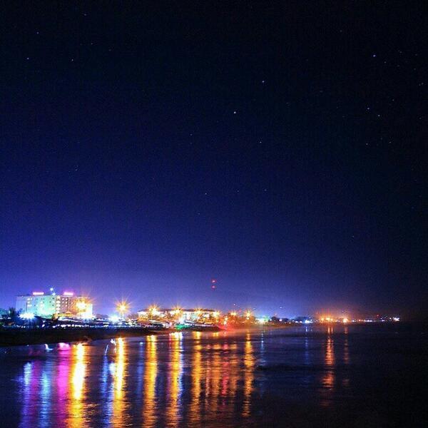 Sumbar Auf Twitter Pemandangan Kota Padang Pada Malam Hari