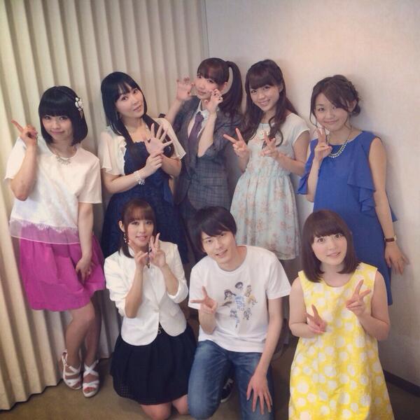 【画像】三森すずこちゃんと井上麻里奈ちゃんとその他