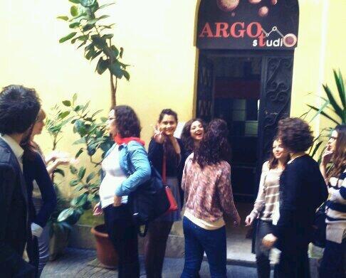 #CoffeeBreak con i ragazzi di #comunicateatro !  #allinU25 #DominioPubblico  @fattiditeatro @ALL_IN_Under25 http://t.co/gy1gkfpzz6