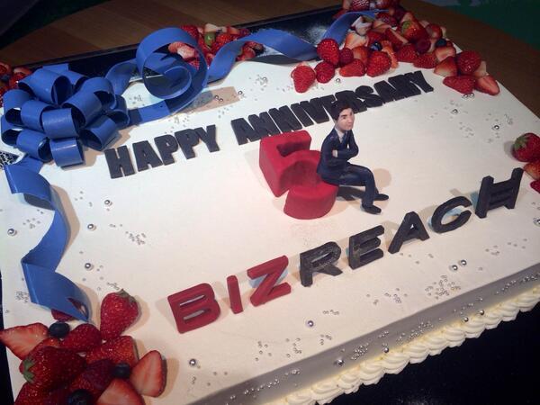 BizReach 創業5周年! http://t.co/tQCo6TcCj5